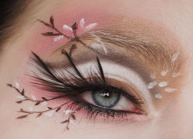 Shironuri (Halloween) Make-up Tutorial