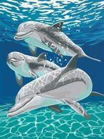 Diy акула океан вышивки крестом алмазов декор декоративная роспись ручной площадь кристалл ремесла дрель полный горный хрусталь рукоделие