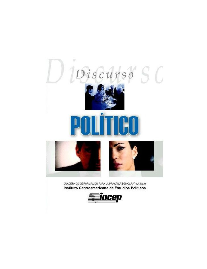 Analisis del discurso politico