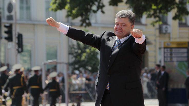Petro Poroshenko takes presidential oath in Kiev.