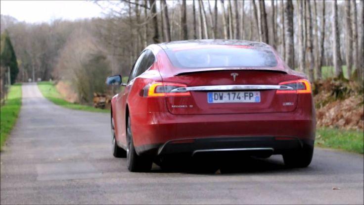 Tesla Model S P90D Ludicrous acceleration ! 0-100 km/h