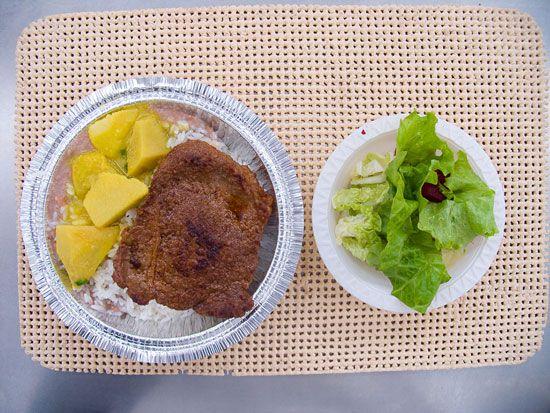 Marmitex Salada separada