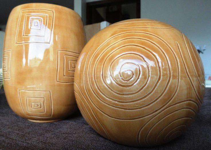 Esferas decorativas y Jarrón, Tu escoges el color!!!....
