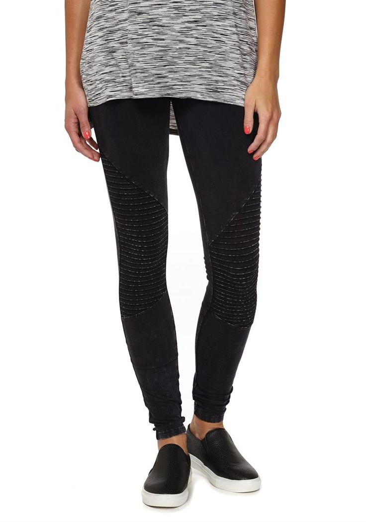 Health Goth // Cotton On / Dakota Knee Detail Legging