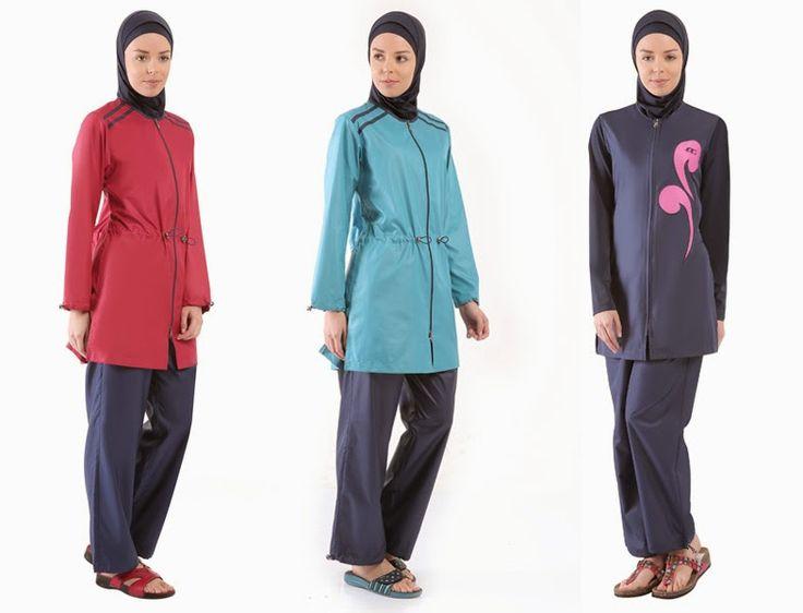 Assez Les 25 meilleures idées de la catégorie Maillot de bain hijab sur  IW58