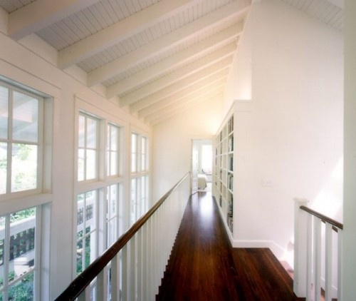 17 best images about renovated third floor attic space for Vaulted ceiling with exposed beams