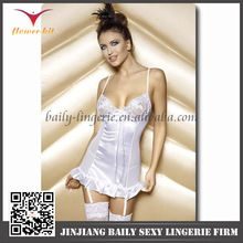 Sexy Hot Babydoll Sleepwear Lingerie White Silk    Best Seller follow this link http://shopingayo.space