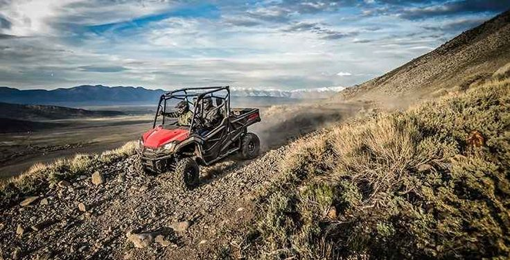 """New 2016 Honda Pioneerâ""""¢ 1000 ATVs For Sale in Tennessee. The outdoors is meant to be explored. The highest hills, the deepest canyons, and the farthest reaches of the forests all lie in wait. And now, we bring you an entirely new vehicle that can get you there. The all-new Pioneer 1000 is the world's preeminent side-by-side, both in the Honda lineup, and the industry. Built around a class-leading 999cc twin-cylinder engine, it can haul up to 1000 pounds and can tow a full ton. Meanwhile…"""