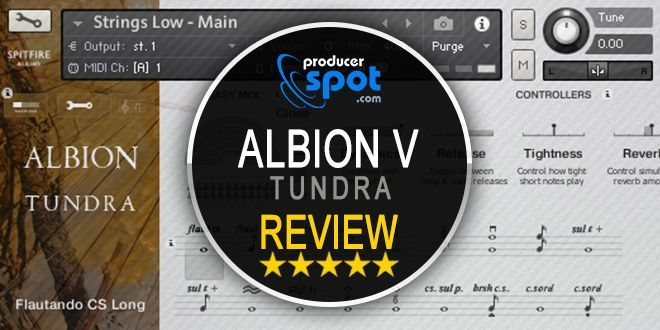 Review: Albion V Tundra Kontakt Library by Spitfire Audio