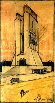 Antonio Sant'Elia, Centrale Elettrica, 1914