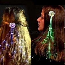 LED-kukka hiuskoriste