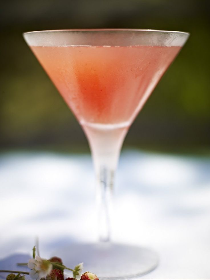 Strawberry Martini | Fruit Recipes | Jamie Oliver Recipes