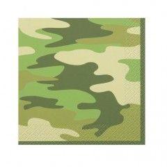 χαρτοπετσέτες για πάρτυ Military