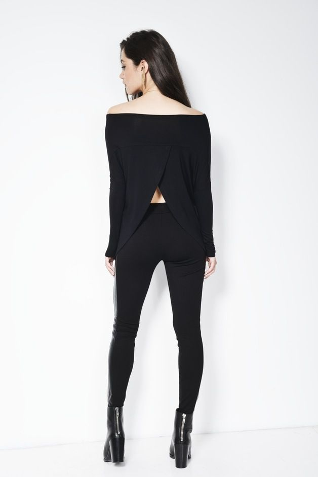 Asymmetrische Tunika: Bequemes Oberteil mit Oversize Rundhalsausschnitt / asymmetrical tunic blouse made by marcellamoda via DaWanda.com