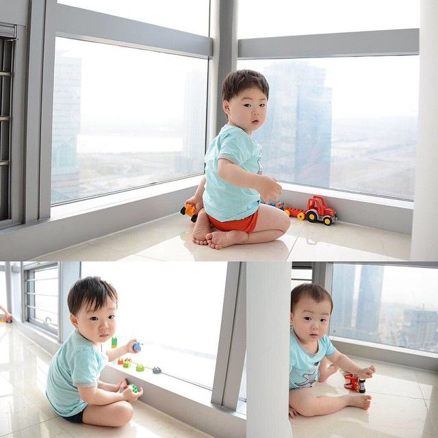 Daehan, Minguk, Manse - Song Il Gook congratulates Song Triplets on their 1000th day | songilkook Twitter Update
