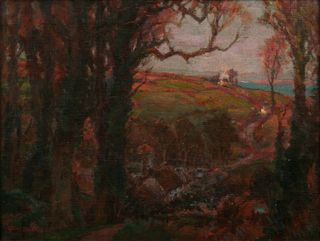 Departing Day, Cornwall - Collections - Penlee House Gallery and Museum Penzance Cornwall UK