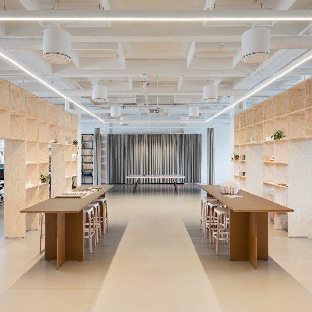 Kjellander Sjöberg KS-Studio Large work shop space
