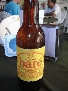 Baré, e tinha a versão guaraná, cola e tutti-frutti