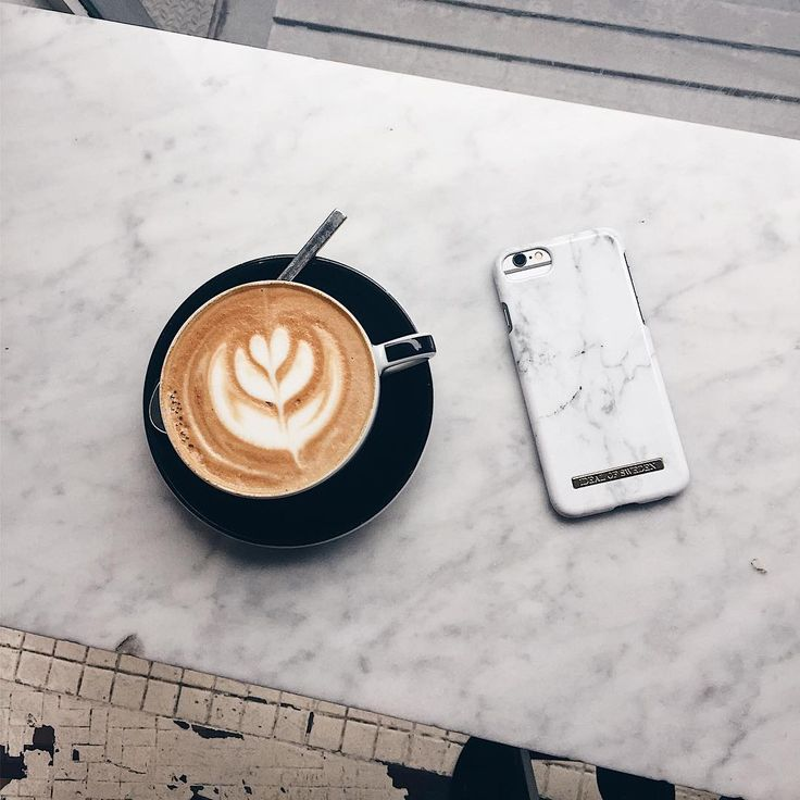 Coffee fixes many things! White Marble by @brendapheng - Fashion Case phone cases iPhone inspiration iDeal of Sweden #fashion #inspo #iphone #coffee #marble