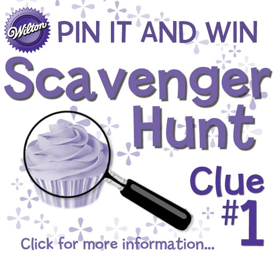 Give cupcakes and treats a swirl! Click here for Scavenger Hunt clue #1.  http://www.wilton.com/contests/scavenger-hunt/index.cfm  #wiltoncontest