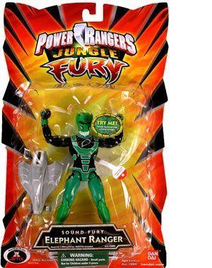 Power Rangers Jungle Sound Fury Elephant Ranger  Green * Visit the image link more details.
