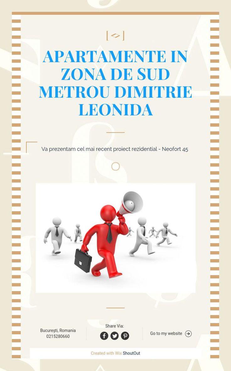 Apartamente in zona de sud Metrou Dimitrie Leonida