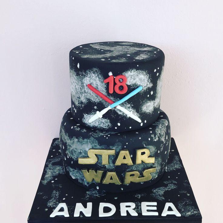 Star Wars Cake  #starwars #cake #cakedesign