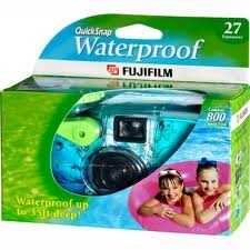 Disposable camera for the kiddo to use. Kid will like it and you could get some pretty interesting shots.
