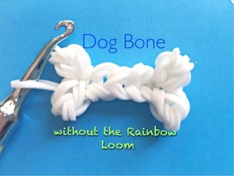 DIY your photo charms, 100% compatible with Pandora bracelets. Make your gifts special. Make your life special! EASY Dog Bone Charms WITHOUT the Rainbow Loom - YouTube