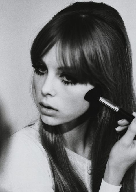 When Did Center-Parted Bangs Get So Chic? (Or Were They Always And I ...