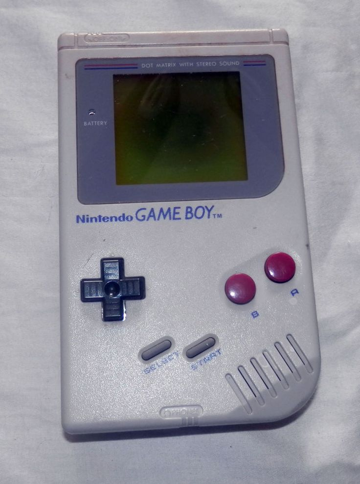 Original Nintendo GameBoy (DMG-01, 1989) Dark Screen Issue-Needs Repair  #Nintendo