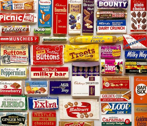 Sweet Sixties: Sixties English confectionary from the Robert Opie Collection, Museum of Brands, Packaging and Advertising (www.museumofbrands.com)