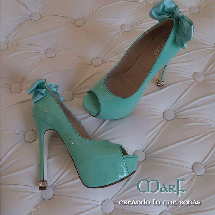 #luxuryshoes #azultiffany #MarfNovias #MarfFifteen #MarfUnique #weddingshoes