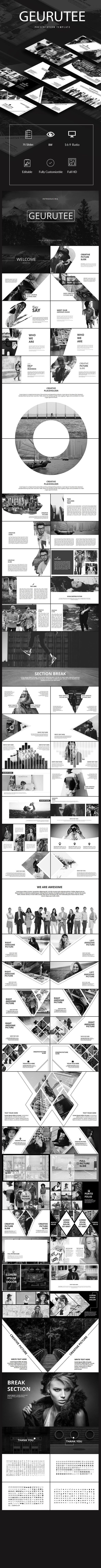 Gerutee Presentation Template (PowerPoint Templates)