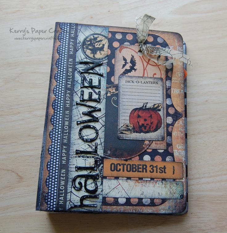 Kết quả hình ảnh cho embrace the dark side scrapbook halloween