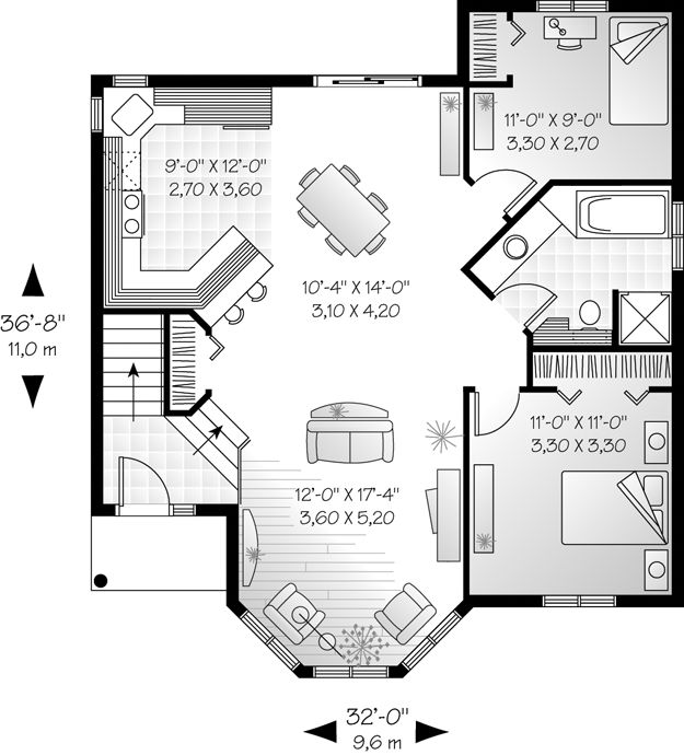 259 Best Images About Cottage Floor Plan Sm On