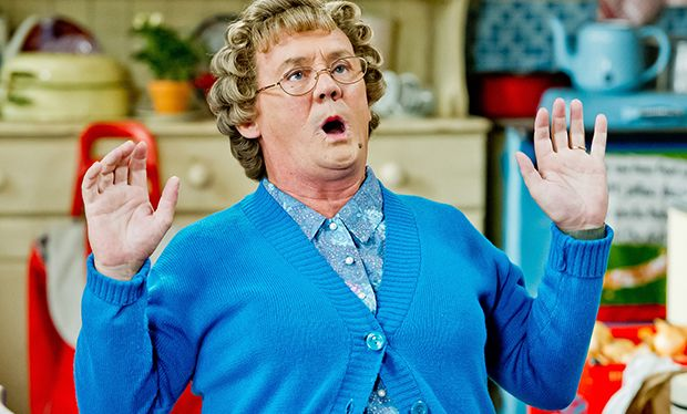 How are the cast of Mrs Brown's Boys related?