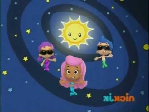 Sun, Beautiful sun - Bubble Guppies    -A cute song from Bubble Guppies about the solar system.