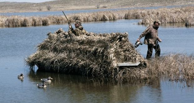 Building a DIY Duck Hunting Boat Blind