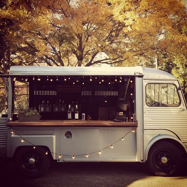 Reception Idea: A wine tasting truck, minus the pretention | Bridal and Wedding Planning Resource for Oregon Weddings | Oregon Bride Magazine