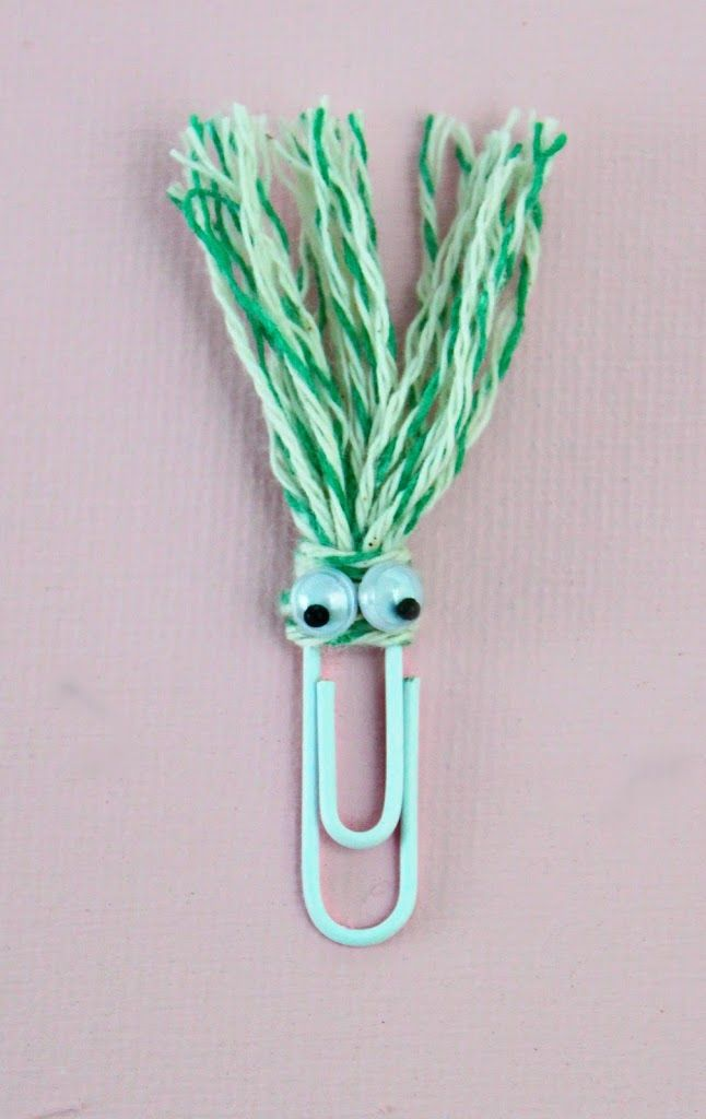Fun bookmarks to make for back to school. #bookmark