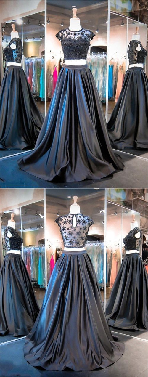 Prom Dresses,Evening Dress,Prom Dresses,Prom Dresses,2 Piece Prom Gown,Two