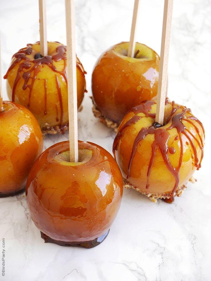 DIY toffee apples