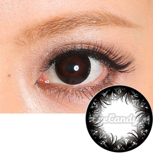 Disposable Japanese cosmetic contact lenses || SHOP >> http://www.eyecandys.com/japanese-contact-lenses-promotion-for-june-2015/