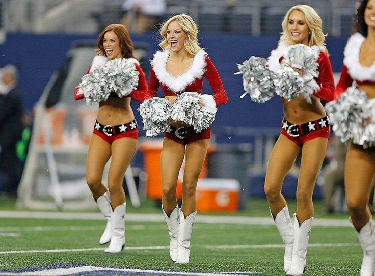 Dallas Cowboys Cheerleaders at Cowboys vs. Packers