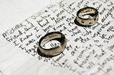 Sample wedding vows can serve as inspiration for your own ceremony.