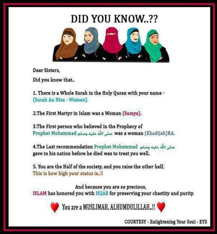Things to know about dating a muslim girl