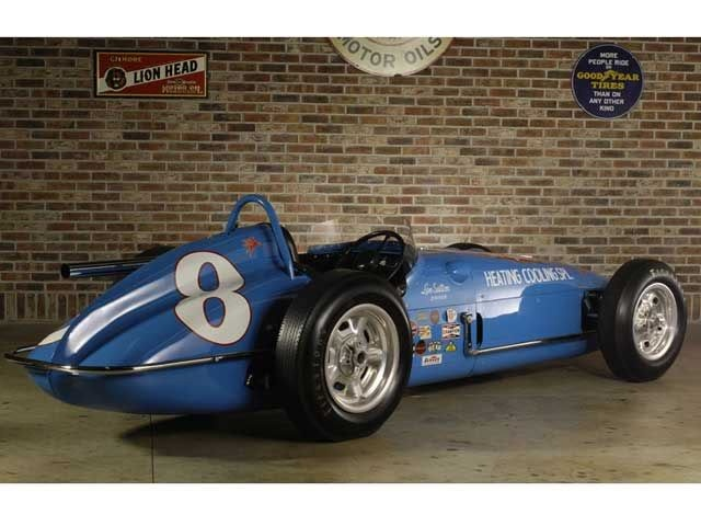 """1960 - Johnny Boyd's (#8) (Restored) """"Bryant Heating and Cooling Special""""…"""