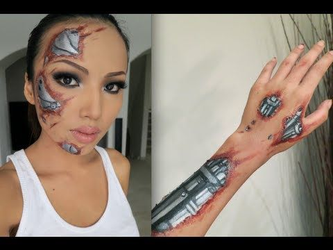 I love this chick, she has soo many tutorials on FX makeup. AMAZING!