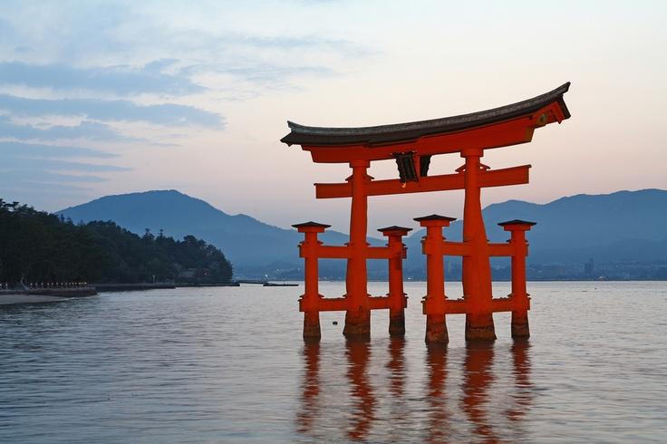 Itsukushima Shrine #hirosima #japan